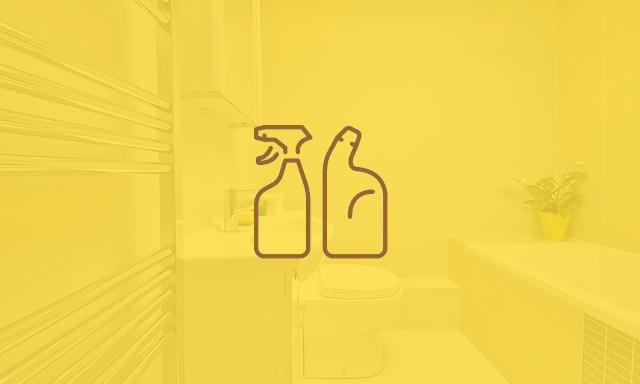 Bad eingefärbt mit Icon