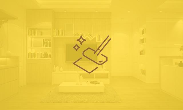 Wohnzimmer eingefärbt mit Icon
